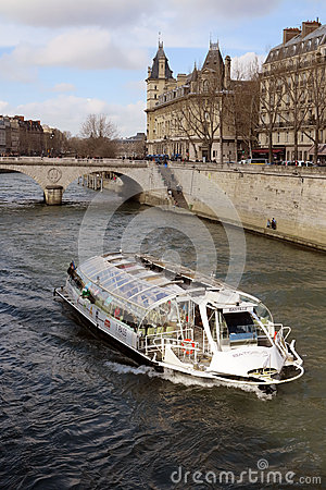 Seine river Editorial Image