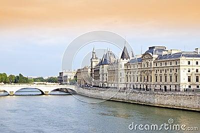 Seine River and Bridge