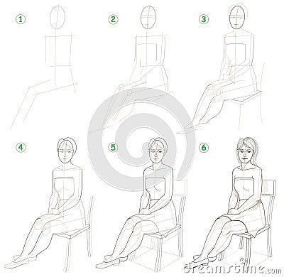 seite zeigt wie man schritt f r schritt lernt eine. Black Bedroom Furniture Sets. Home Design Ideas