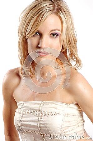 Seksowna mody dziewczyna