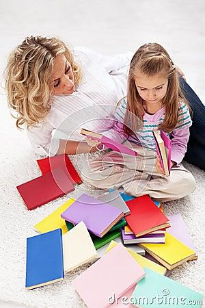 Selecionando uma história ler