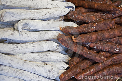 Selection of French Sausages
