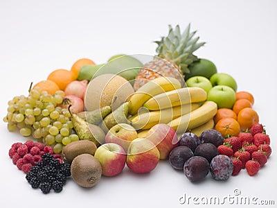 Selection Of Fresh Fruit