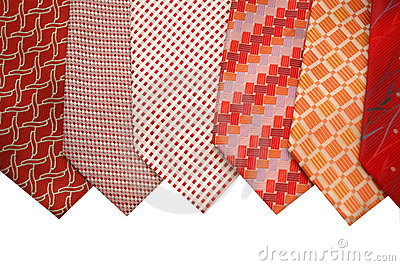 Selection of silk ties
