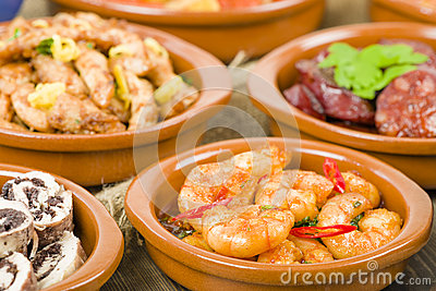 Selection of Spanish Tapas