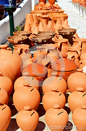 Algarve terracotta pots and vases for sale