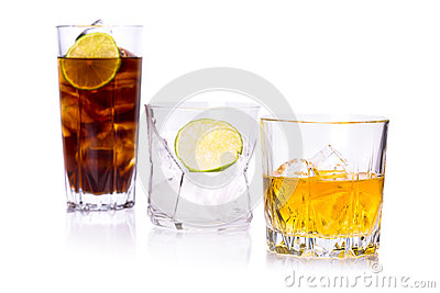 Selection of whiskey