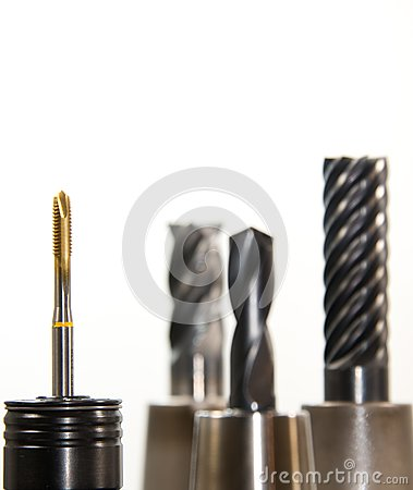 Selective Photo On Gold And Silver Drill Bit Free Public Domain Cc0 Image