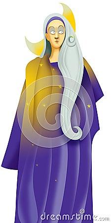 Selene, goddess