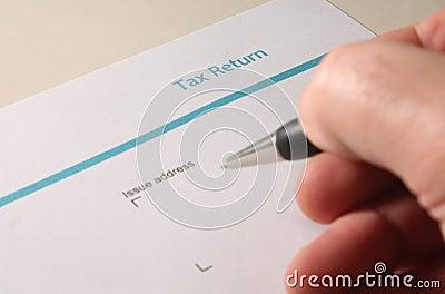 Self Assessment UK Tax Return Form