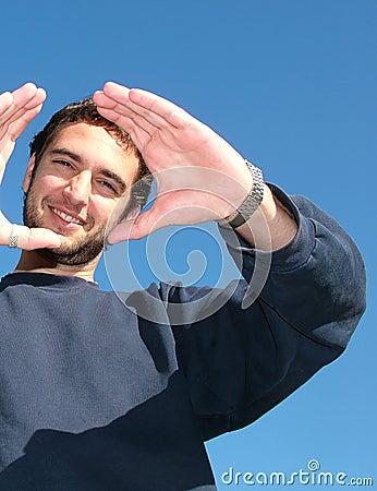 Free Self Confidence - Happy Man Royalty Free Stock Image - 324636