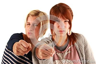 Self-defense girls
