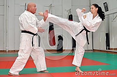 Self Defense Karate Lesson