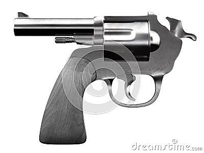 Self destroyer revolver