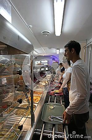 Self service canteen
