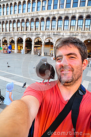 Free Selfie Photo - Me And My Special Friend In Venice Stock Photo - 28050830