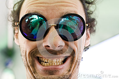 Selfie smiley face