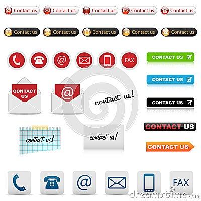 Seli metta in contatto con icone