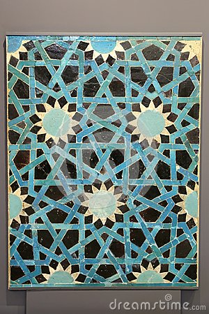 Free Seljuk Blue Tile Royalty Free Stock Images - 101964959