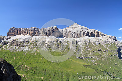 Sella mountain - Italain Dolomites
