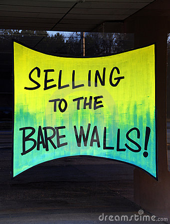 Selling to the Bare Walls