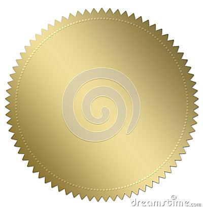 Sello del oro