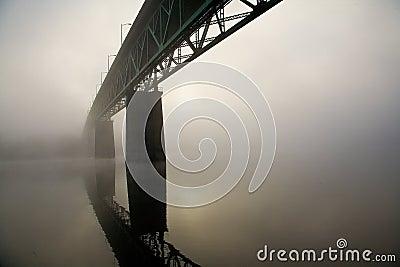 Sellwood Bridge in Portland, Oregon.