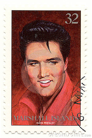 Selo Com Elvis Presley