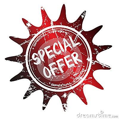Selo da oferta especial
