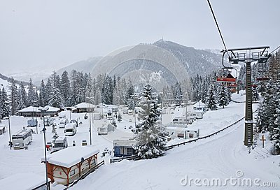 Selva di Val Gardena, Italy Editorial Stock Photo
