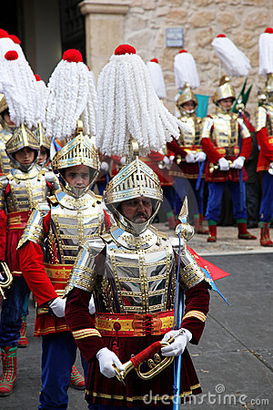 Semana Santa Parade Spain Editorial Image