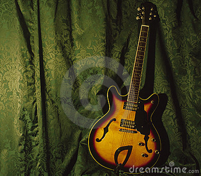 Semi Accoustic Guitar
