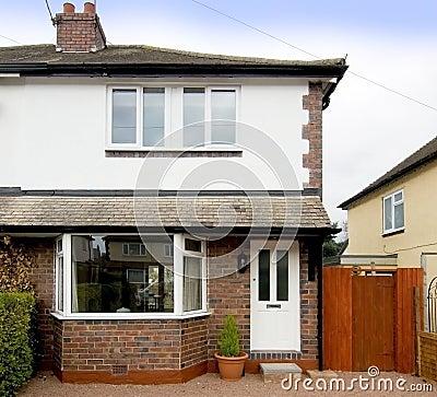 Free Semi Detached House Stock Image - 3688421