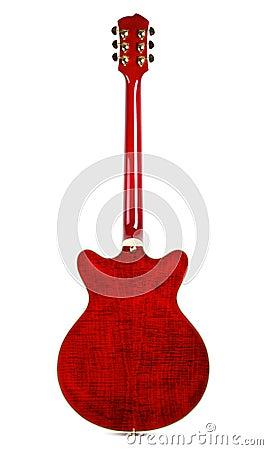 Free Semi-hollow Guitar Back Stock Photos - 28874203
