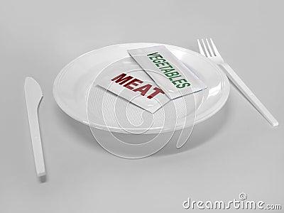 Semi-manufactured food of the future