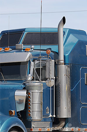 Semi Truck Stock Photography - Image: 663852