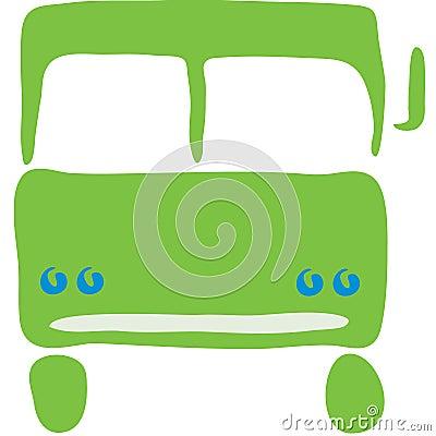 Semi truck symbol