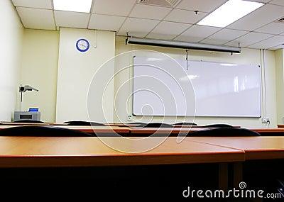 Seminar room set up