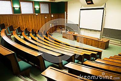 Seminar room view