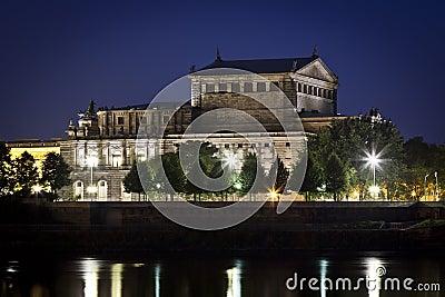Semper Oper by night