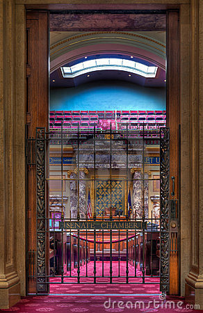 Senate Chamber Entrance