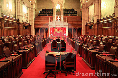 The Senate Chamber, Ottawa.