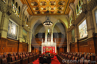 Senate of Parliament, Ottawa, Canada