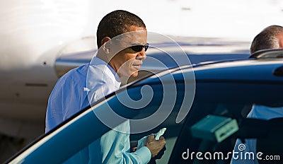 Senator Barack Obama Editorial Image