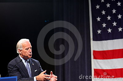 Senator Joe Biden Editorial Stock Photo
