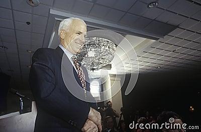 Senator John McCain Editorial Stock Image