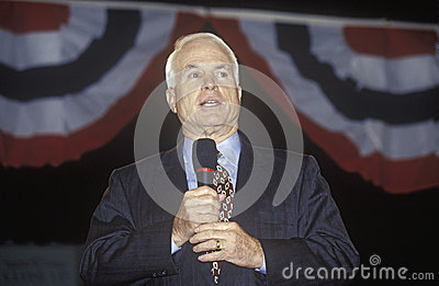 Senator John McCain Editorial Stock Photo