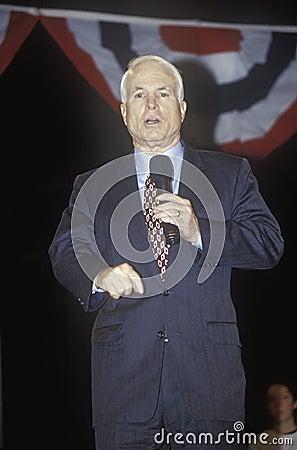 Senator John McCain Editorial Photo