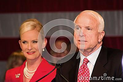 Senator John McCain Editorial Stock Photo