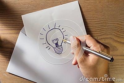 Send idea on mail